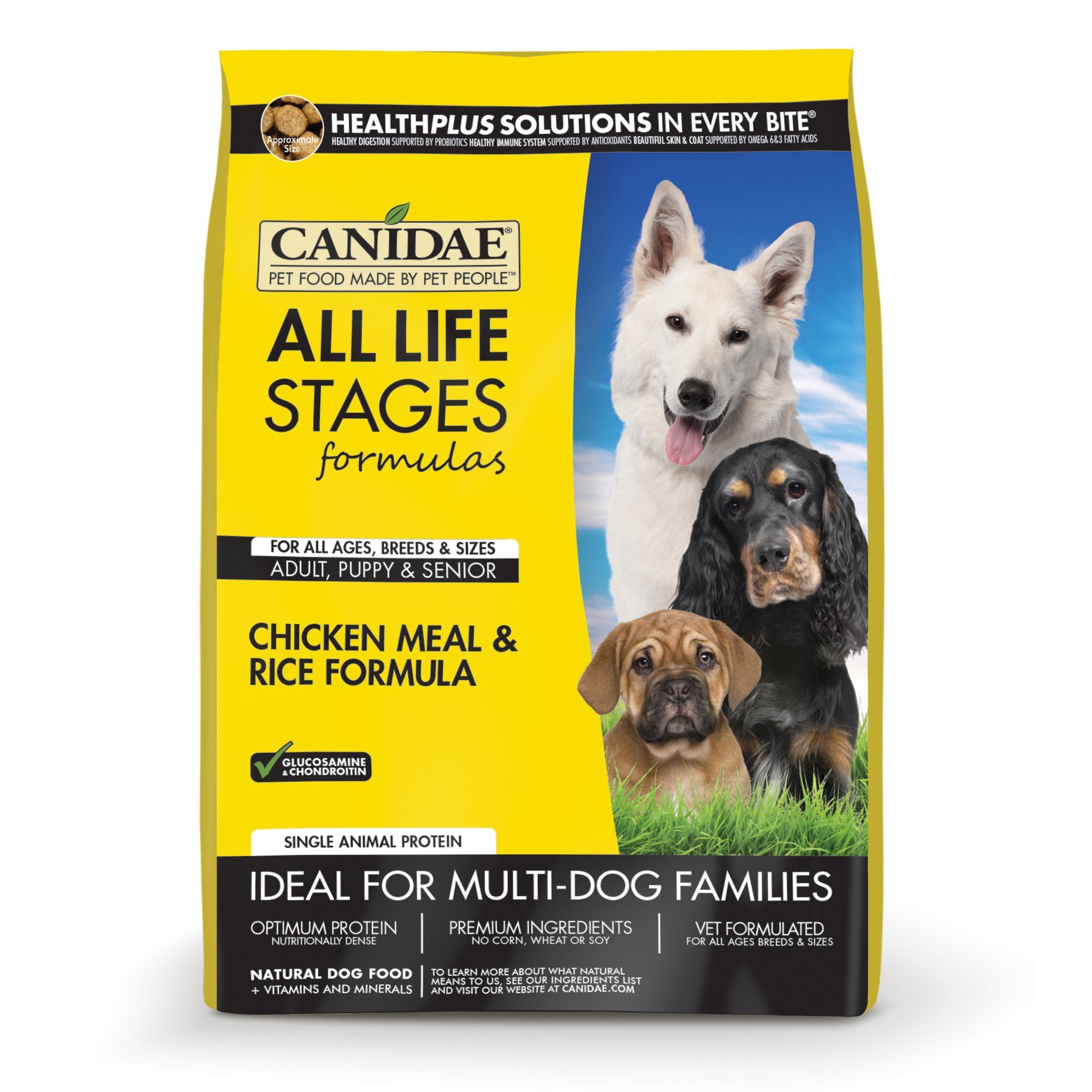 Canidae all life stages dog dry food chicken meal