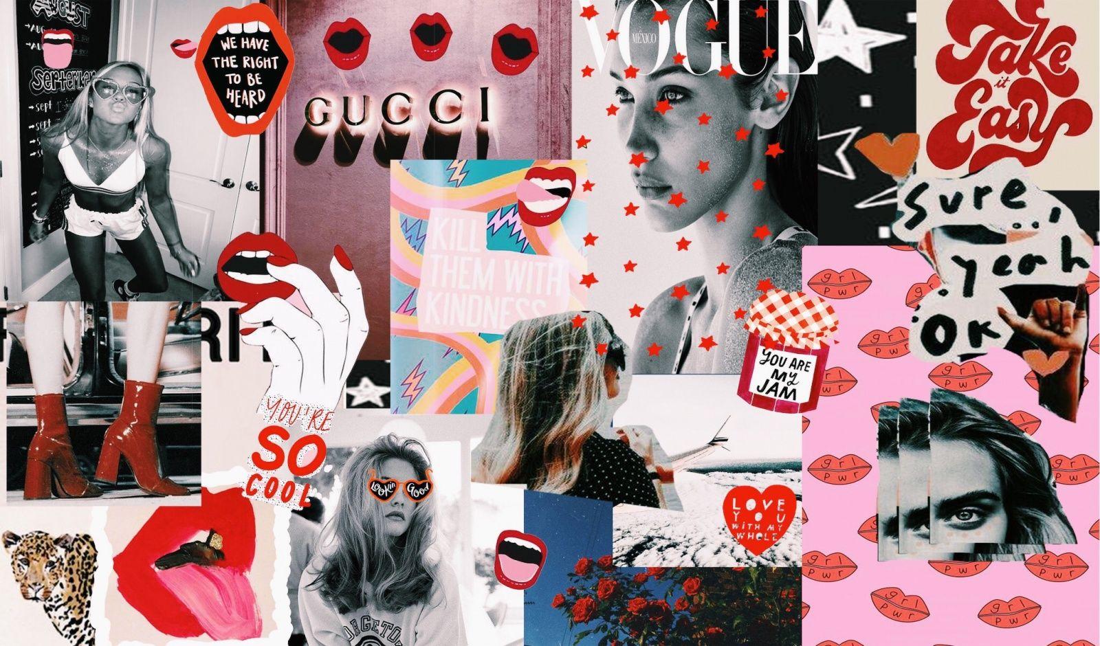 70s aesthetic wallpaper collage Retro wallpaper