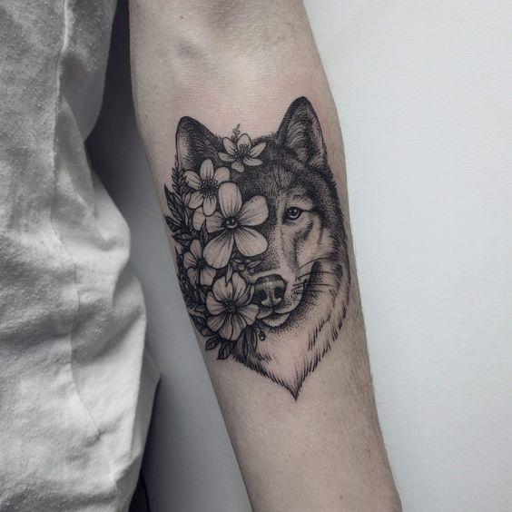 De 70 Modelos De Tatuagens De Lobos Tatuagens Ideias