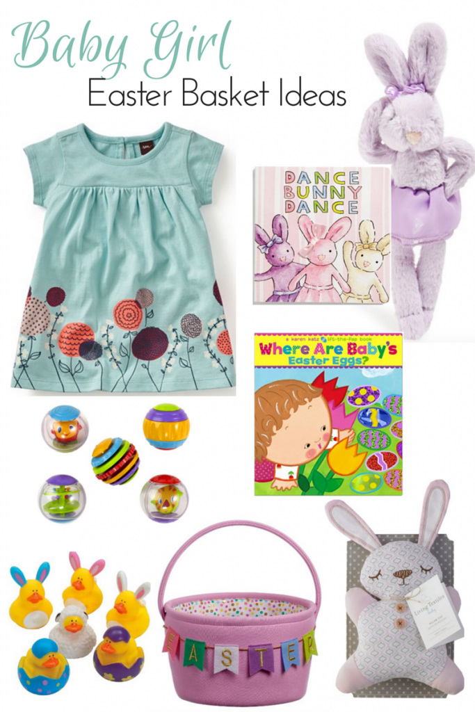 Easter basket ideas for babies pinterest basket ideas easter its hard to think of baby girl easter basket ideas but there are some little negle Choice Image