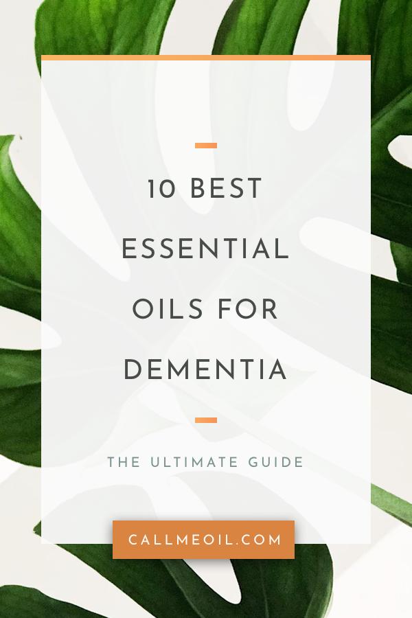 10 Best Essential Oil Diffuser Recipes For Dementia