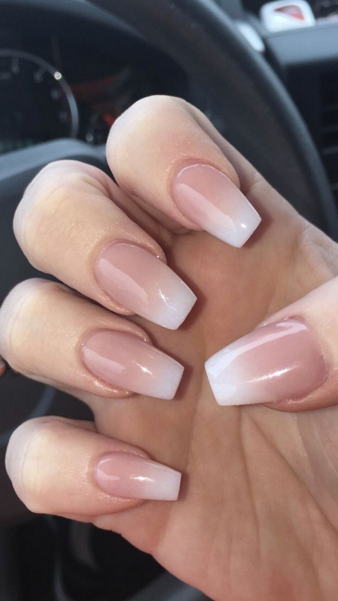 89 The Best Natural Ombre Nails Manicure Ideas You Must Try 55 Elroystores Com Ombre Acrylic Nails Perfect Nails Cute Acrylic Nails