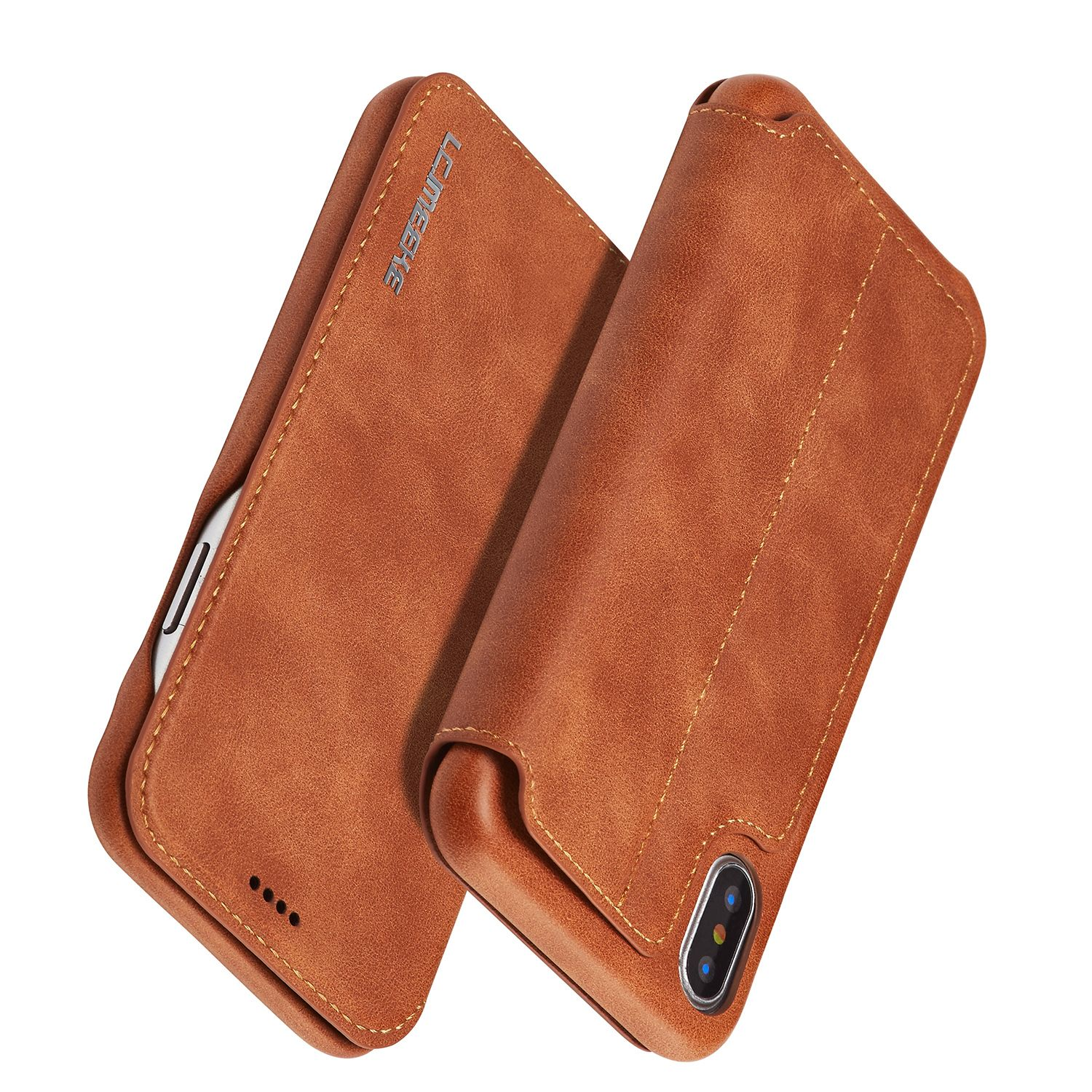 iPhone X XS 5.8 inch Leather Case Apple iphone, Iphone