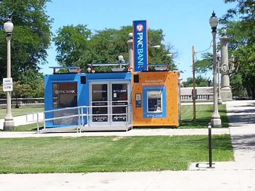 The Chicago Park District Received 120 000 To Allow The Pnc Bank