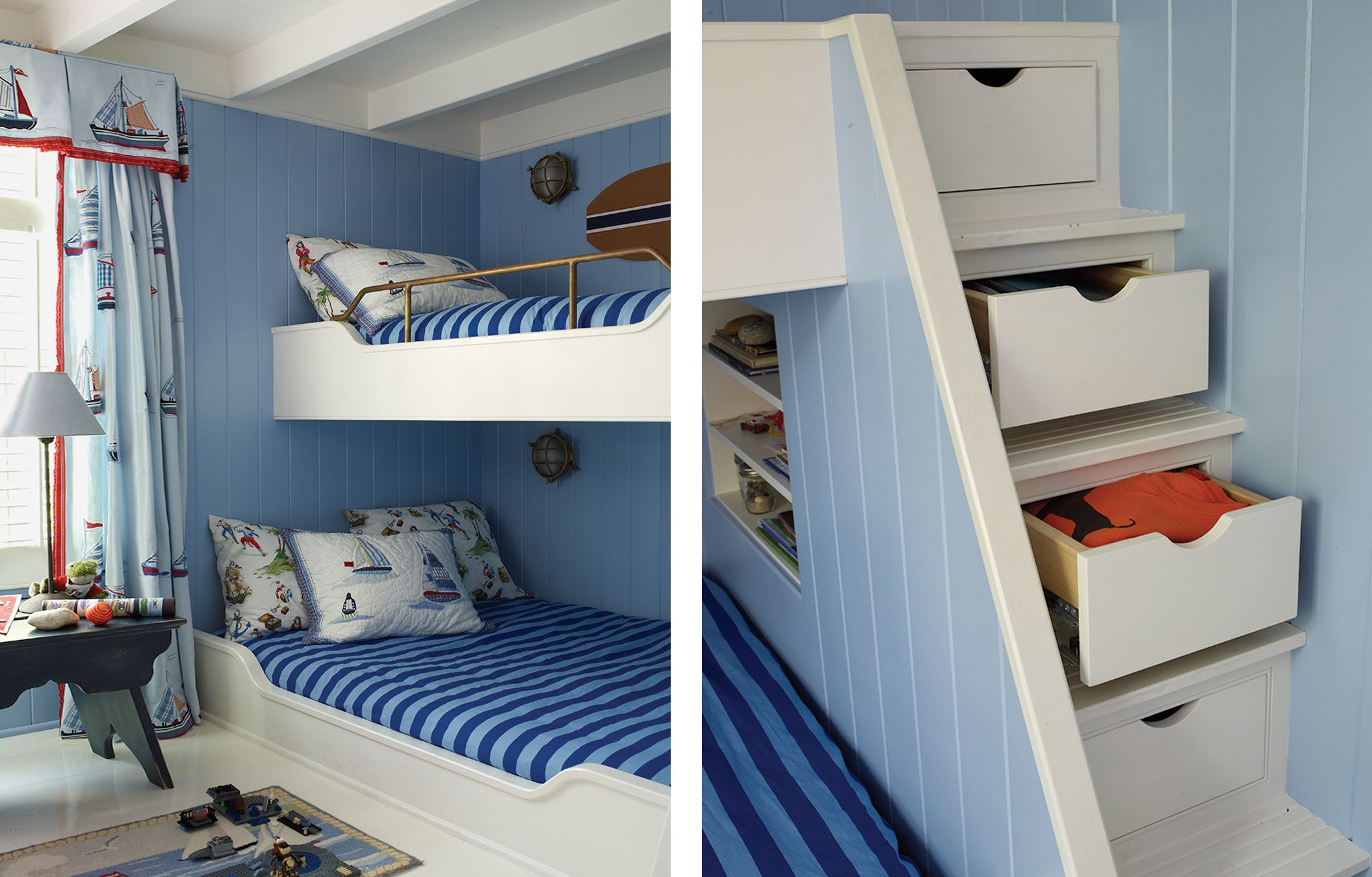 Smart Storage Solutions Bunk beds, Bunk beds with stairs