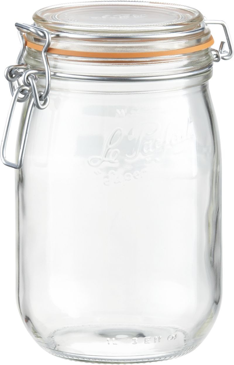 I Think It S Time To Upgrade My Storage System For Ground Coffee Le Parfait 1 Liter Jar Crate And Barrel Glass Canning Jars Le Parfait Jar