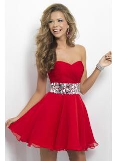 2013 Homecoming Dresses A Line Sweetheart Short/Mini Beads&Sequins Chiffon $116.9 Special Occasion Dresses