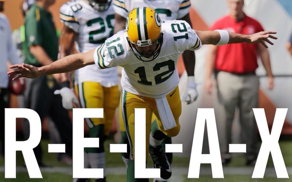 a2fd24a7f36f787ff8379c537fe13368 aaron rodgers says relax green bay packers~ not just fans