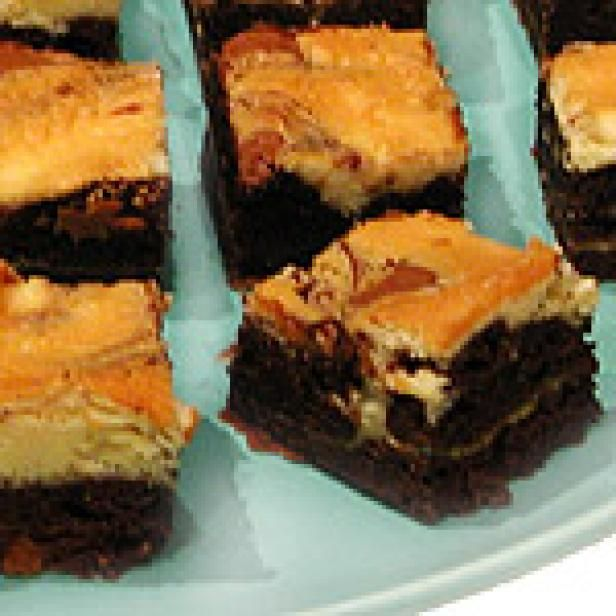 Get Black and White Brownies Recipe from Food Network