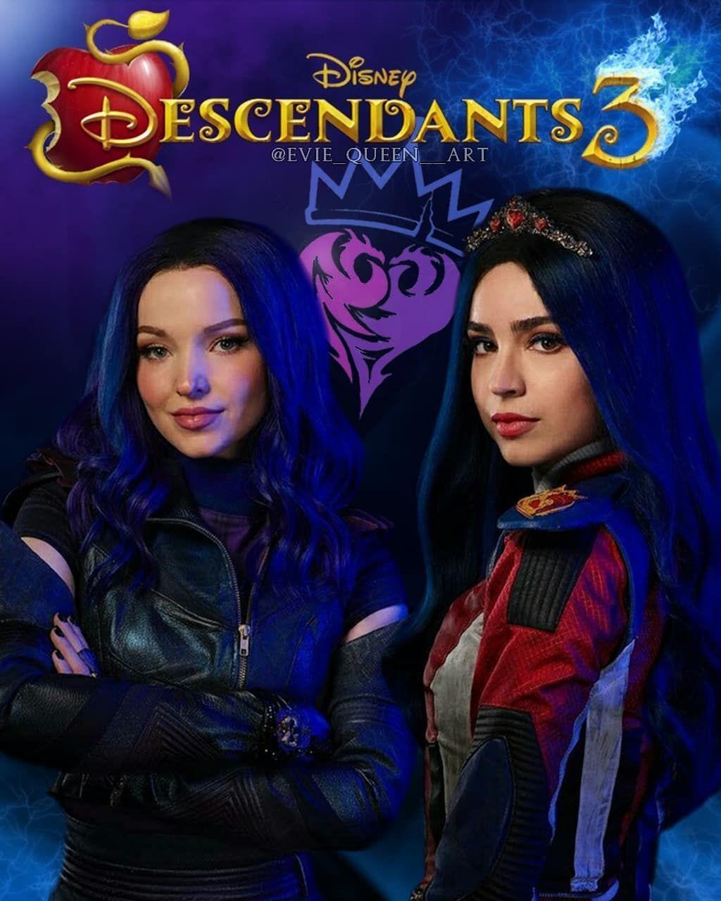 On Instagram Mevie Poster To Descendants 3 Credit If You Use Dovecameron S En 2020 Descendientes Actores Fotos De Sofia Carson Descendientes