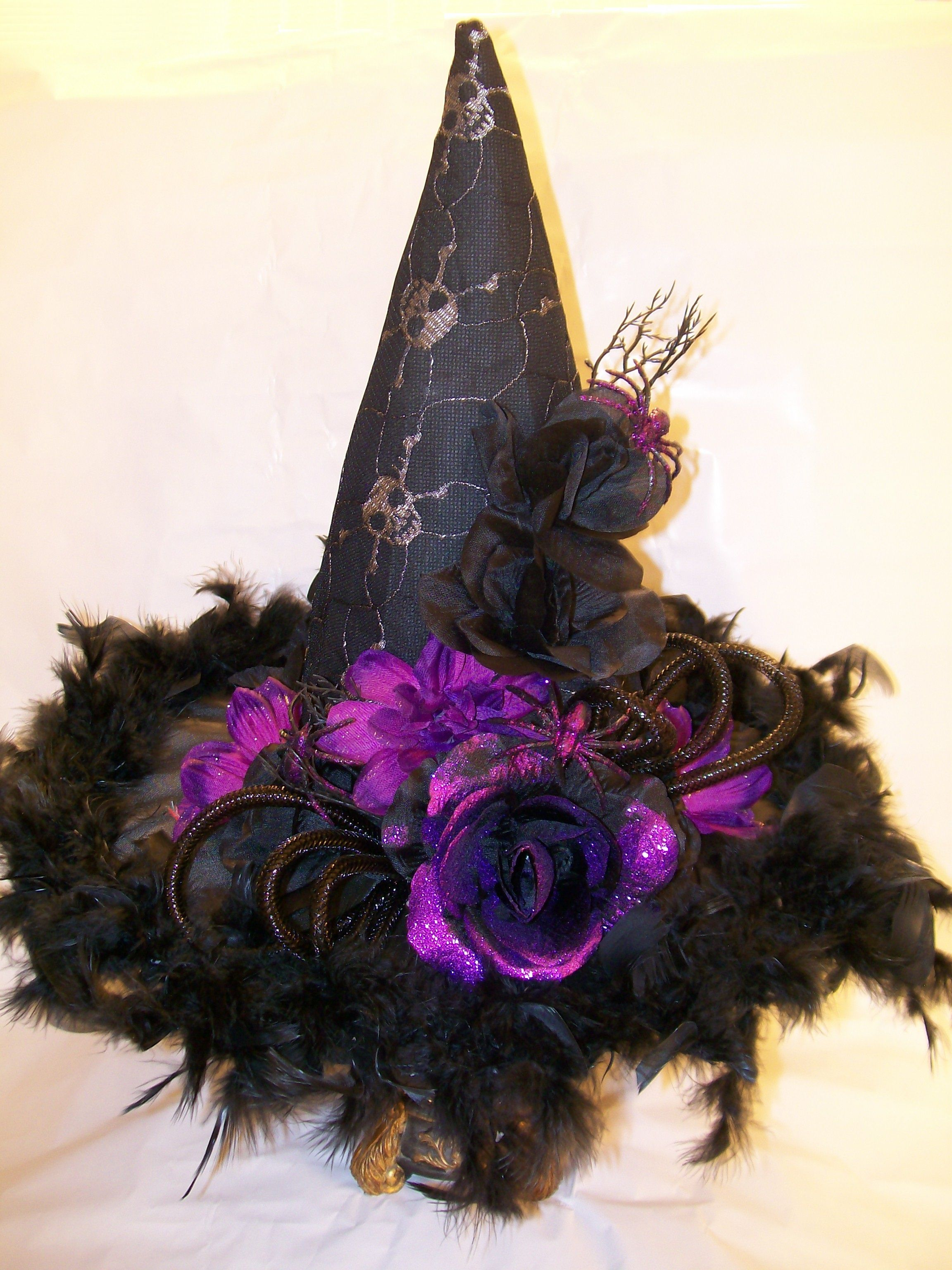 Halloween Witches Hat Material And Elements Purchased