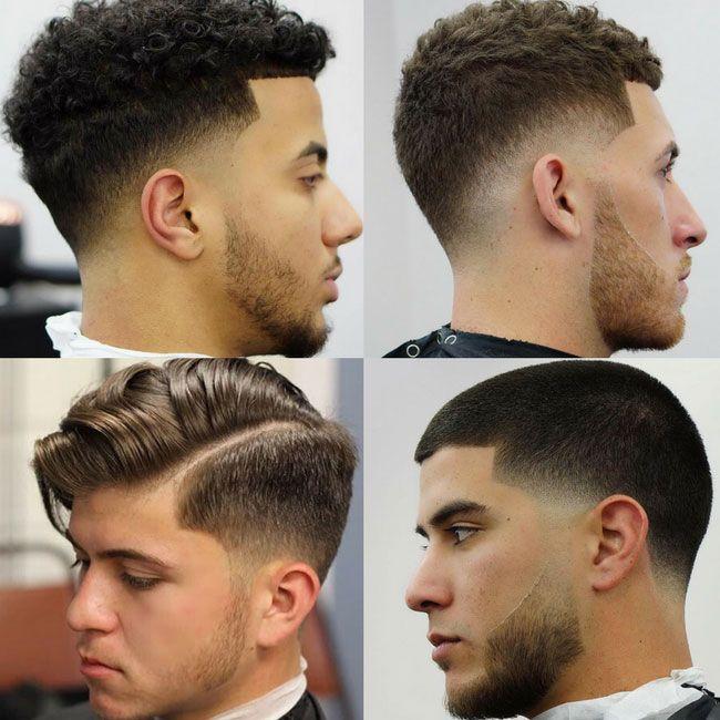 Low Fade Haircut Names For Men Cool Mens Haircuts Por Elegant Hairstyles
