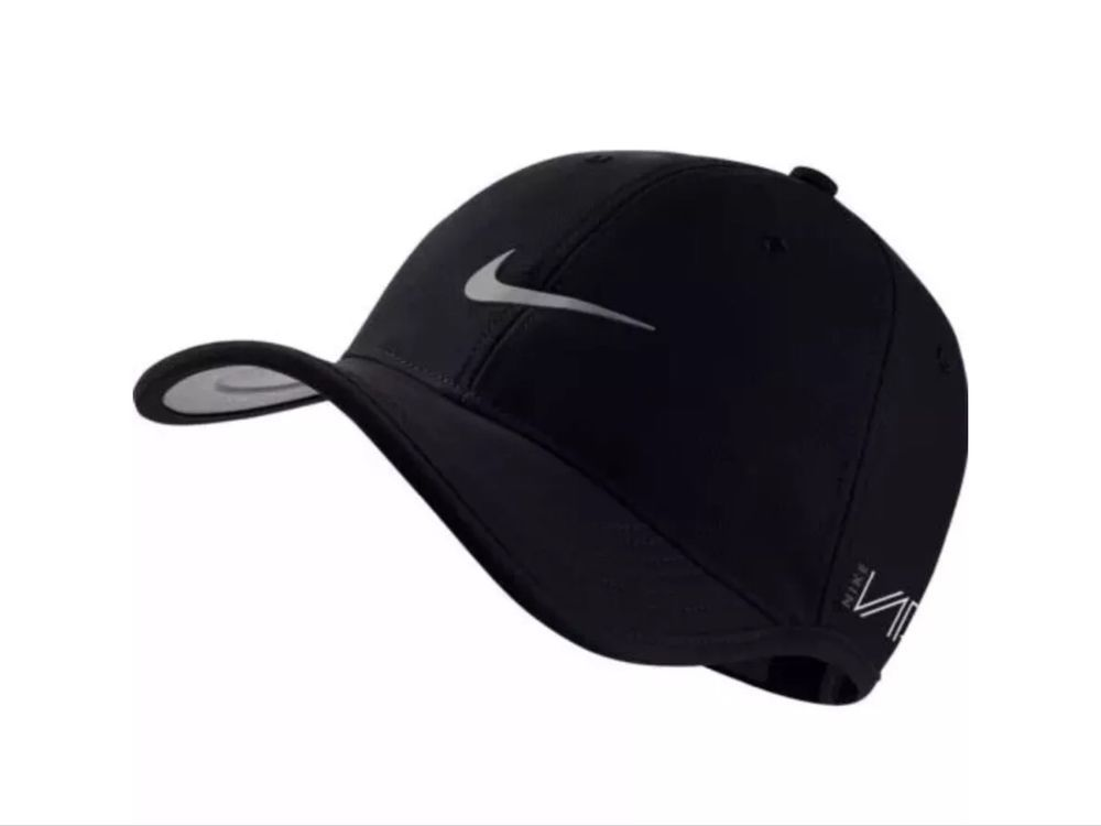 NIKE GOLF Dri-Fit Ultralight Vapor Tour Cap Hat 639673-010 Black New NWT   Nike  GolfCap 0eea8c4a566