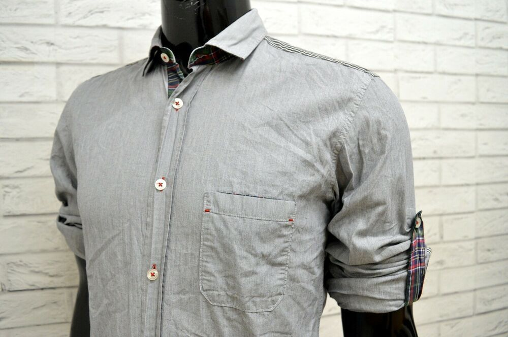 uk store undefeated x sells Camicia Maglia Uomo HUGO BOSS Shirt Man Taglia S Fantasia a ...