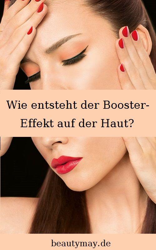Wie entsteht der Booster-Effekt auf der Haut? - BeautyMay