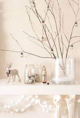 sweet mantle decoration