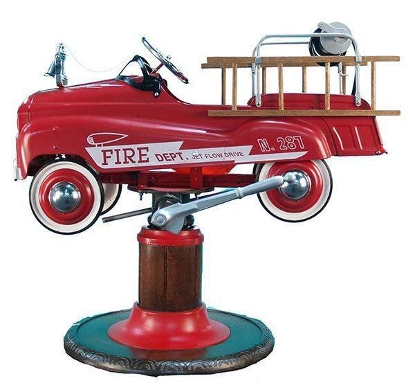 Fire Truck Pedal Car Product By Burns Novelty Amp Toy Co On