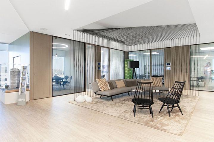 Superb CBRE Office, Barcelona U2013 Spain » Retail Design Blog  Dope String Element