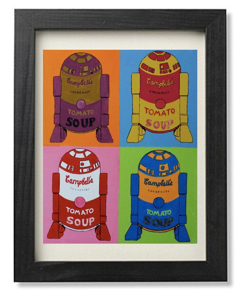 R2d2 tomato soup andy warhol campbells soup parody digital print r2d2 tomato soup andy warhol campbells soup parody digital print cm 20 x 25 via etsy malvernweather Images