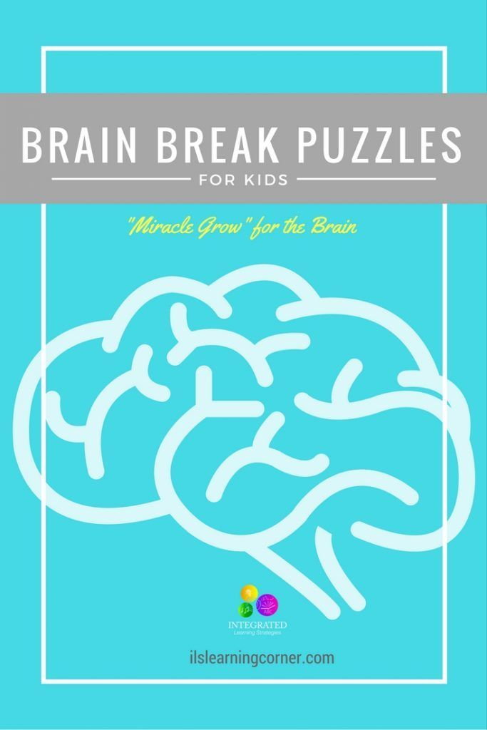 "Brain Breaks: Simple Brain Break Puzzles to ""Spark"" and"