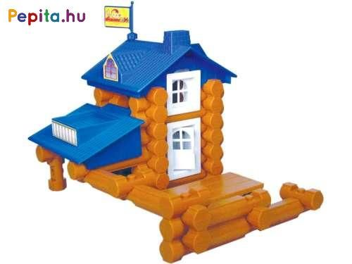 Assemble a colorful wooden house with plastic building blocks! The House …