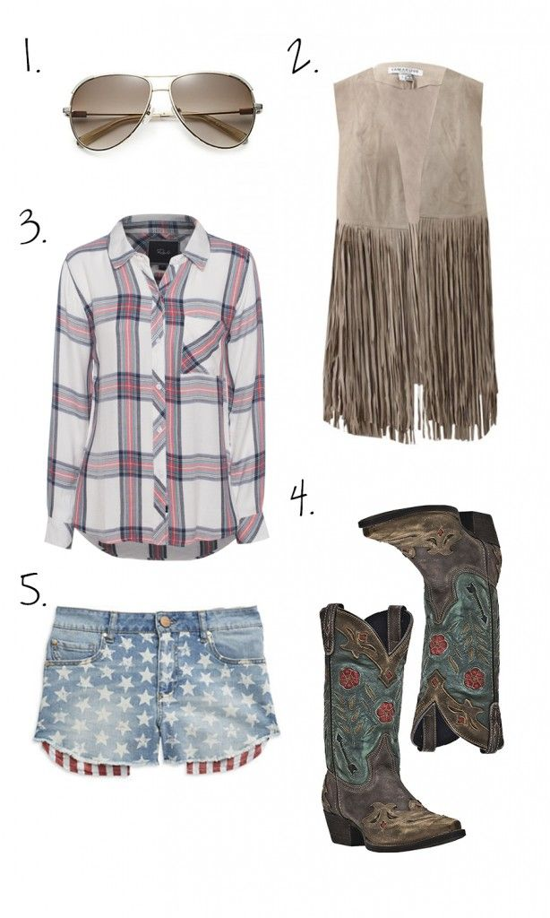 Outfit Inspiration: What to Wear to a Country Concert