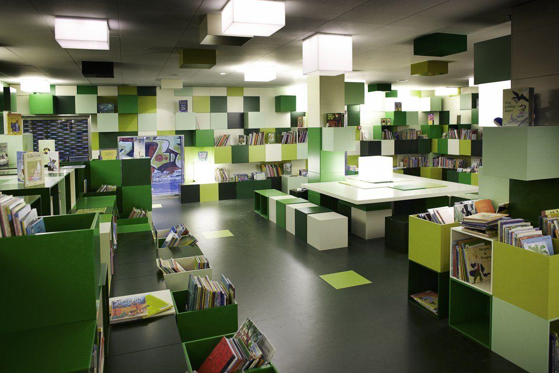 Imagine These: Library Interior Design | Copenhagen Library | COBE
