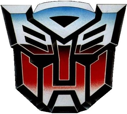 Autobots Are A Fictional Team Of Sentient Robots From The Planet Cybertron Led By Optimus Prime And The Main Autobot Symbol Transformers Transformers Autobots