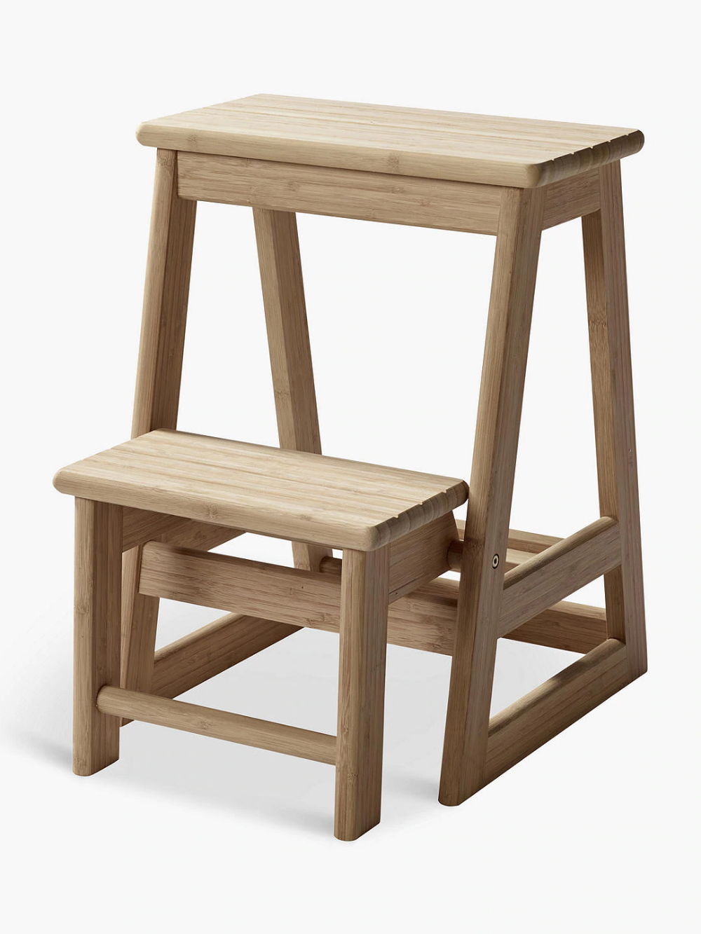 Bedside Step Stools For Adults: Bamboo Step Stool