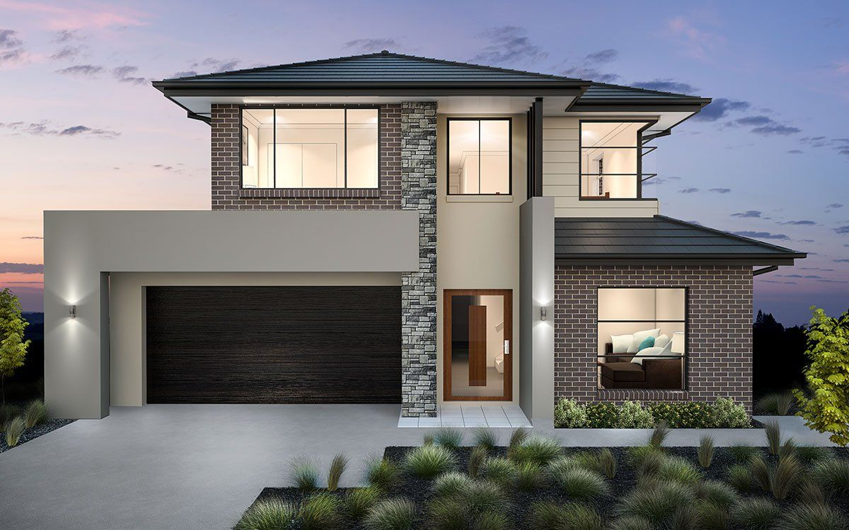 Bronte 32   Double Level   by Kurmond Homes   New Home Builders ...
