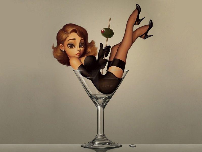 Superior Free Images About Thumbelina Martini   MobDecor