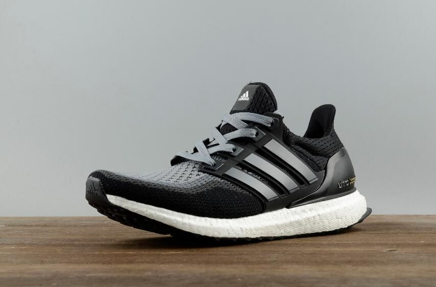 New Authentic Adidas Ultra Boost 2.0 Black Grey AQ400 Real Boost for Online  Sale 01 01 5c83f00d5