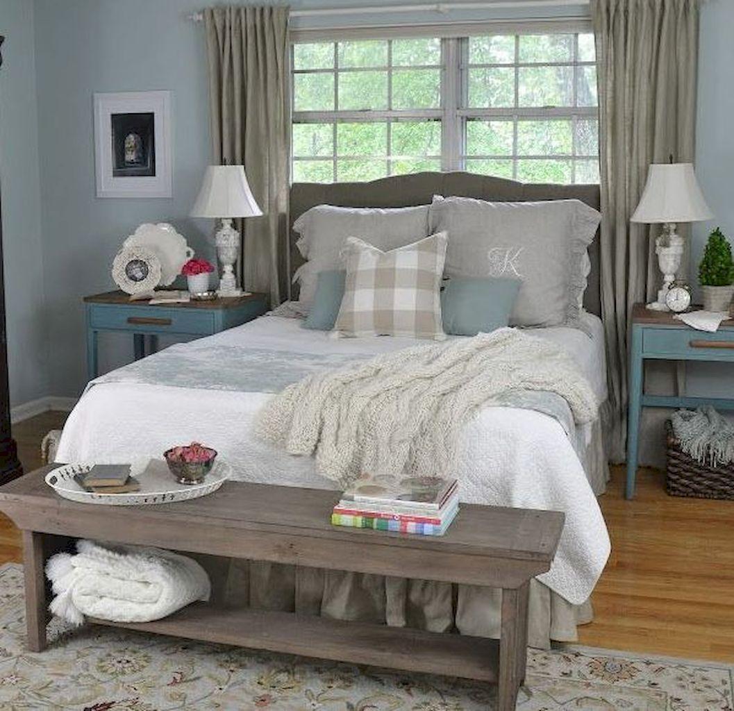 Farmhouse Master Bedroom Decorating Ideas 11 Avec Images