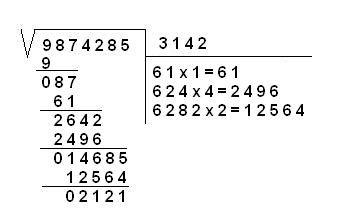Ramón Hidalgo Rivero 6ºa Trata De Como Hacer Paso A Paso Una Raiz Cuadrada Raiz Cuadrada Curiosidades Matematicas Material Didactico Para Matematicas
