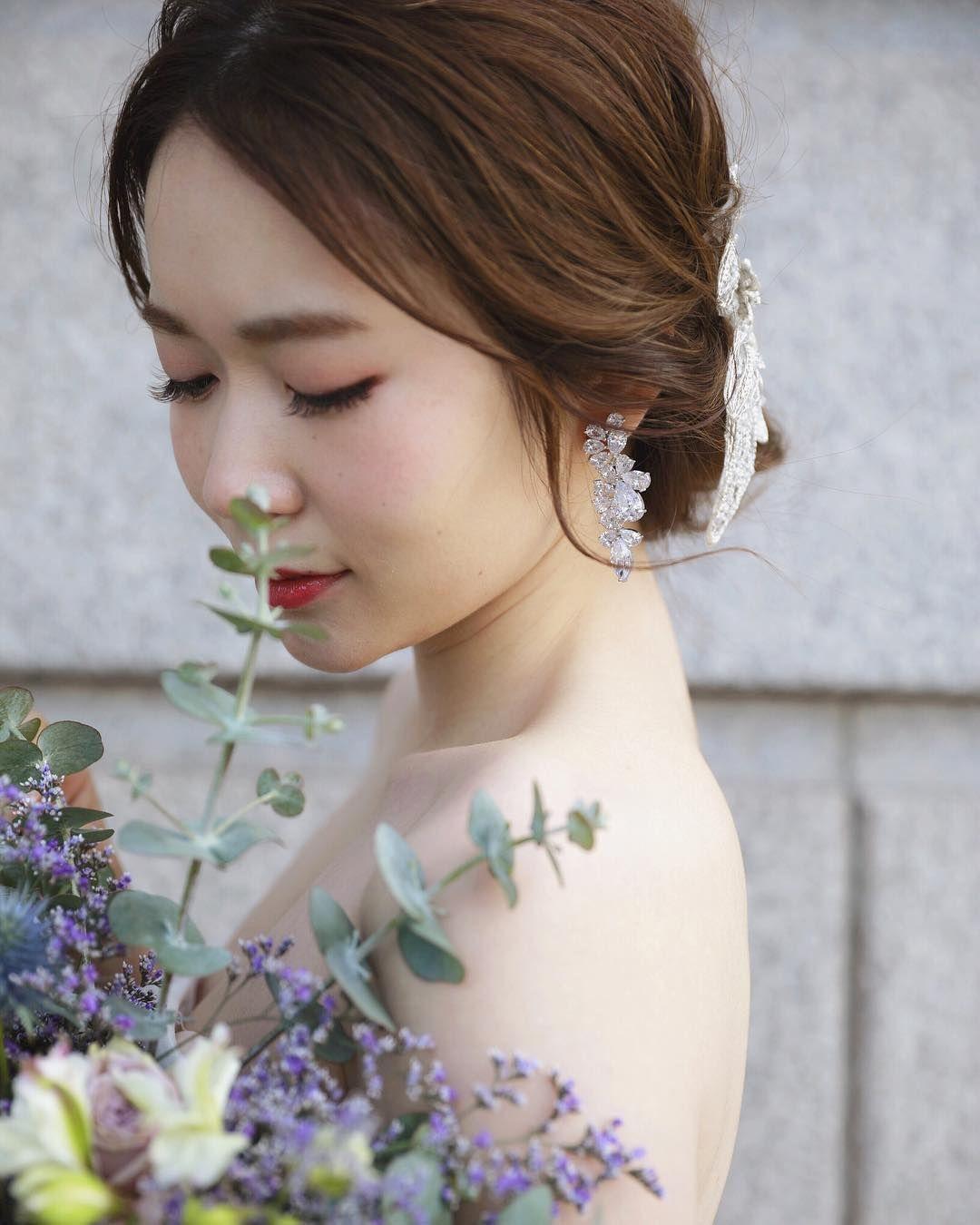 ダウンヘアセット おしゃれまとめの人気アイデア Pinterest 愛姫 青木 2020 ブライダルアクセサリー ブライダル 花嫁