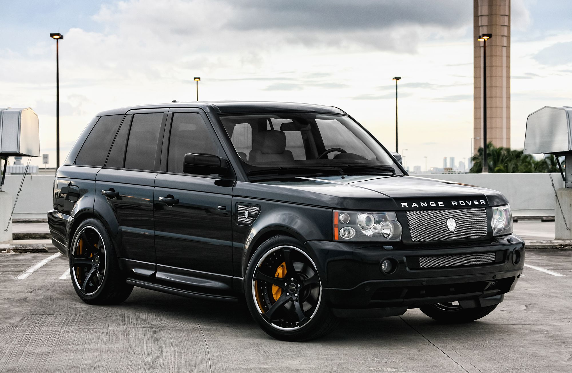 Customized Range Rover Sport Exclusive Motoring Miami Fl Range Rover Sport Range Rover Landrover Range Rover