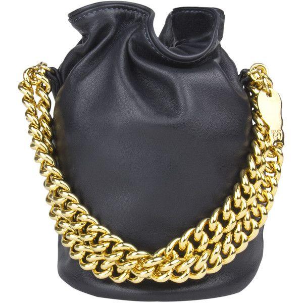 BT Milano Shoulder Bags ($290) ❤ liked on Polyvore featuring bags, handbags, shoulder bags, indian handbags, silk purse, chain purse, chain handbags and chain shoulder bag