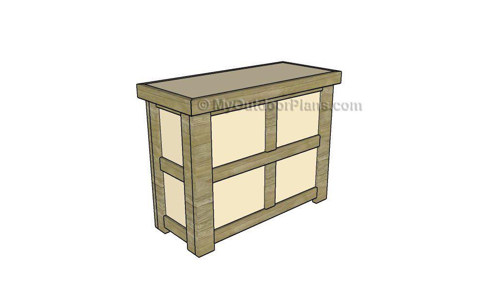 How to build a home bar | outdoor bars | Pinterest | Bar, Wooden ...