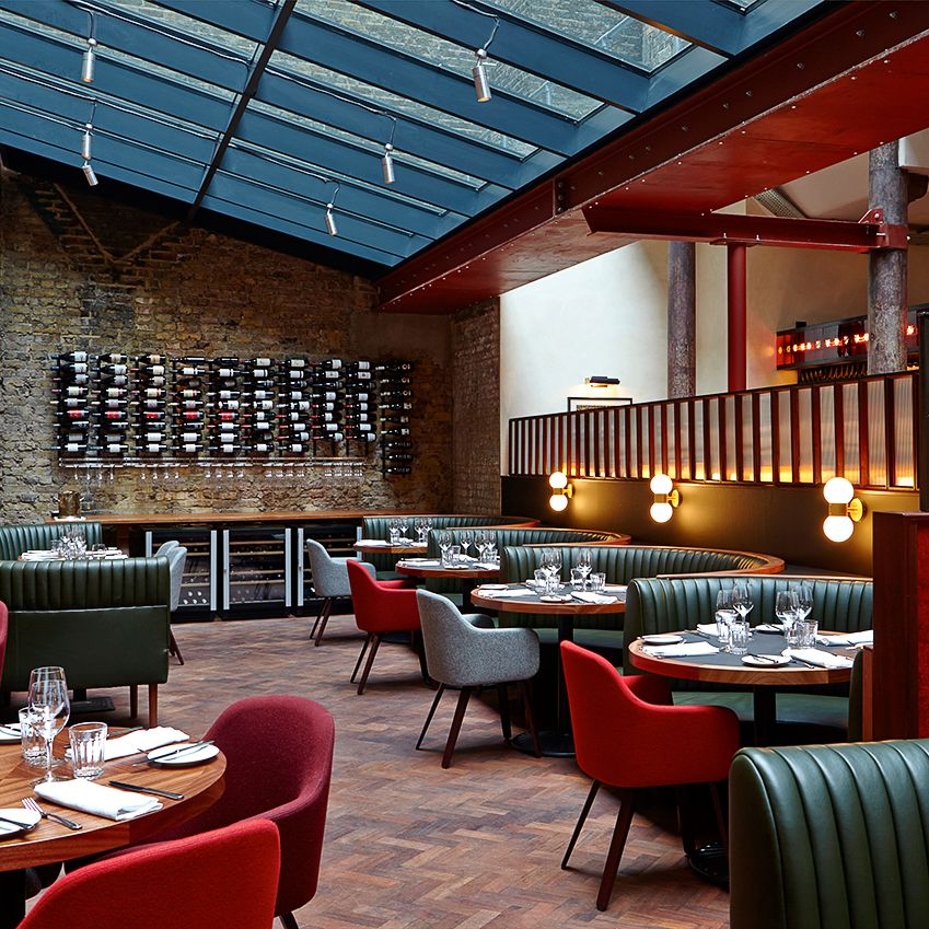 Best British Interior 2014 Banquettes Cosy and Pendant lighting