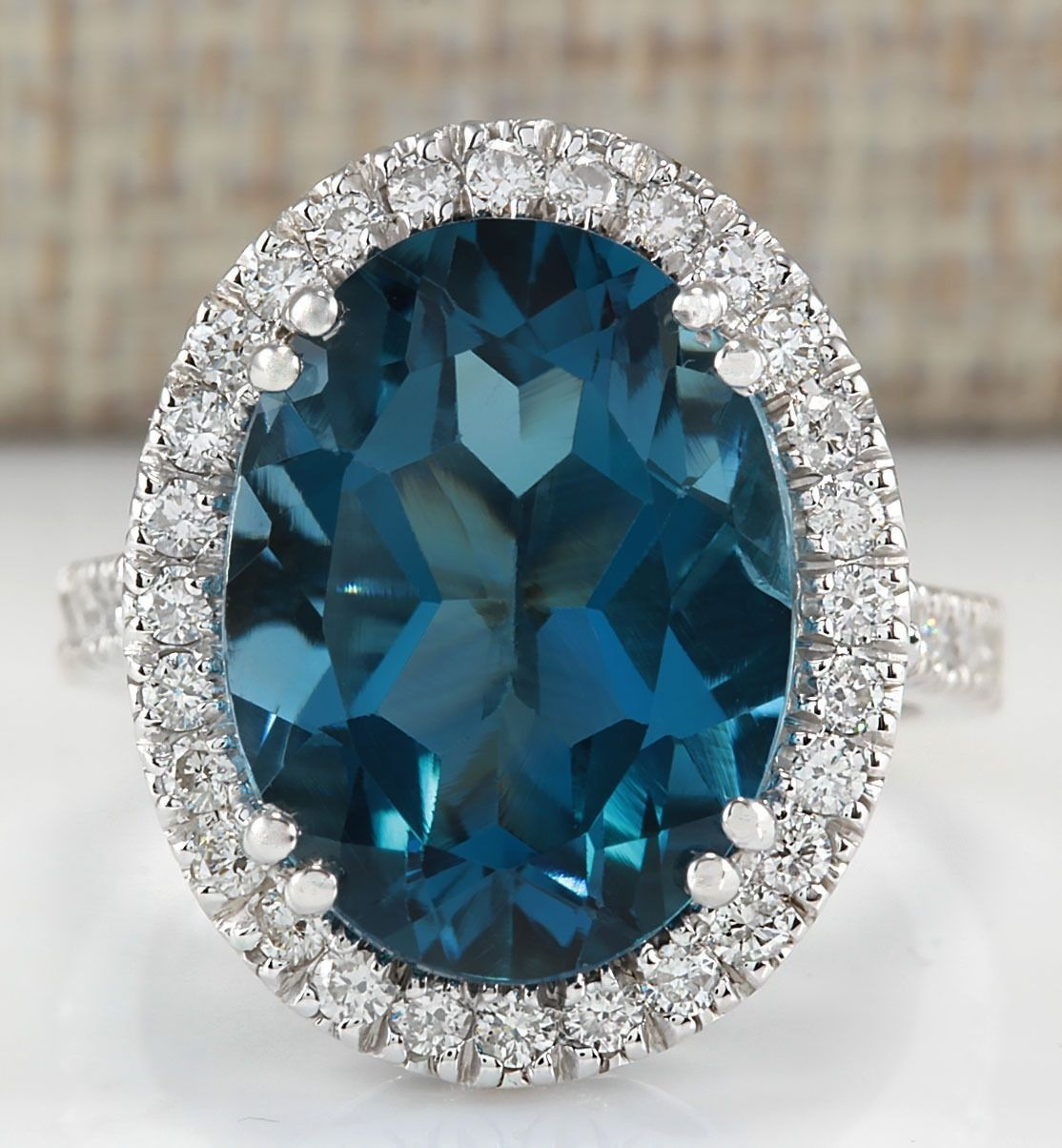 buy london topaz gemstone ring,stone ring,silver ring,bezel ring,natural stone ring,round shape stone,925 silver ring