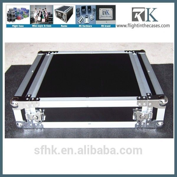 Custom Shockproof Aluminum Flight Case Rack Case 2u Sales02 Flightinthecases Com Vee Road Cases Flat Screen