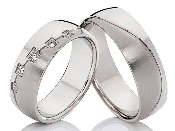 2 Trauringe Eheringe Verlobungsringe Hochzeitsringe