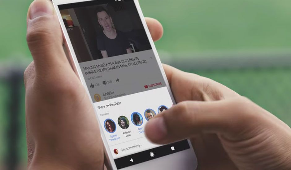 YouTube rolls out new in-app messaging features for iOS and Android