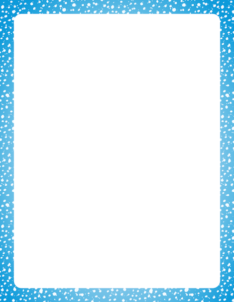 Printable snow border. Free GIF, JPG, PDF, and PNG downloads at http ...