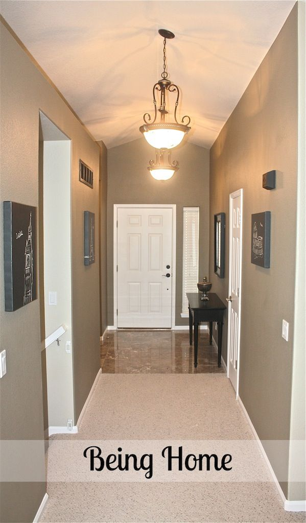 Paint Color For Hallway entry, front living room and upstairs hallway paint color | ideas