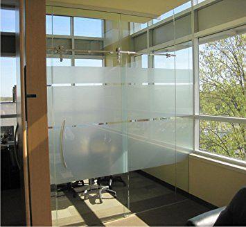 Coavas Decorative Window Film Non Adhesive Static Cling Window Film /(17.7 x 78.7 Inch/)