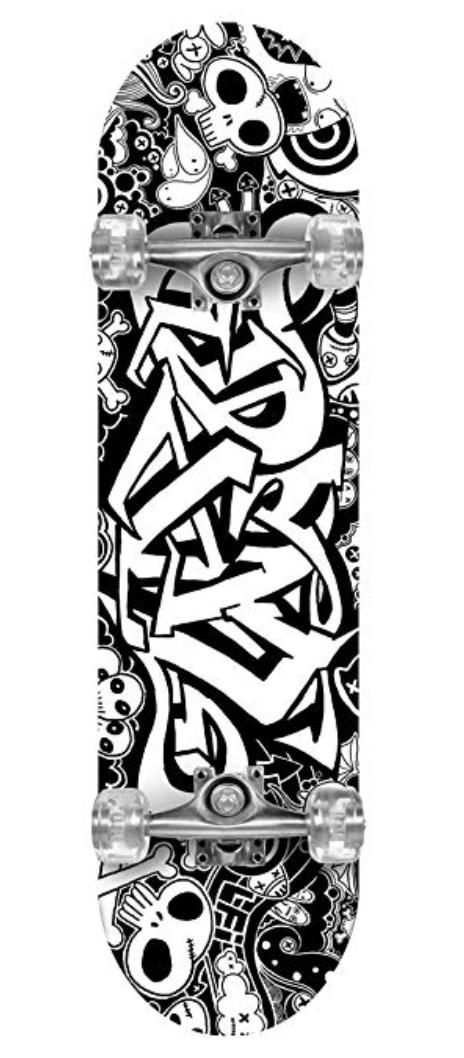 FOR SALE: Gemgo 9 Plies Maple Deck Sturdy Skateboard with