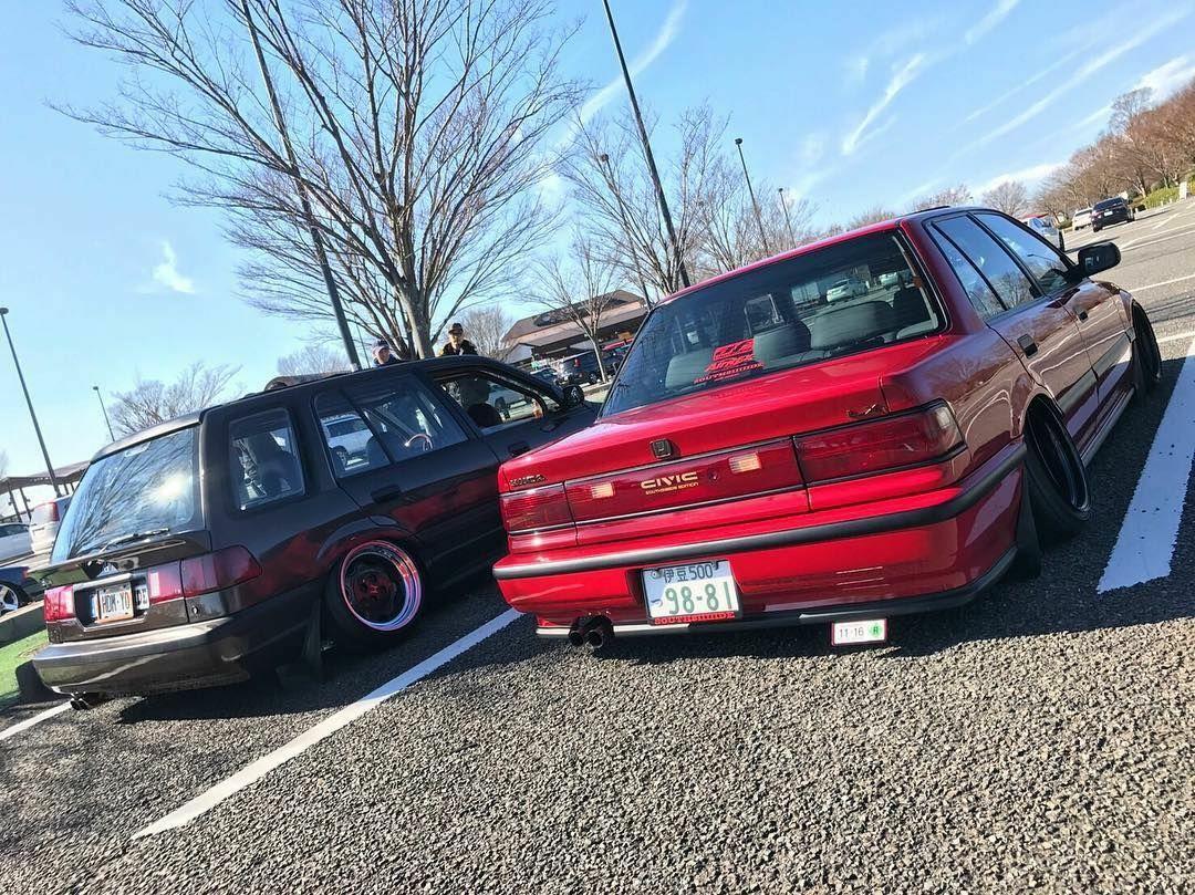 Honda Civic Ef Sedan Ef Wagon Wagovan Shuttle Stance Slammed Civic Ef Honda Sedan