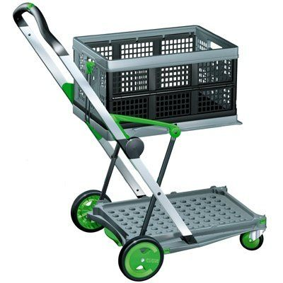 2020 Clax Collapsible Folding Shopping Cart Review Best Heavy Duty Stuff Folding Shopping Cart Folding Trolley Folding Cart