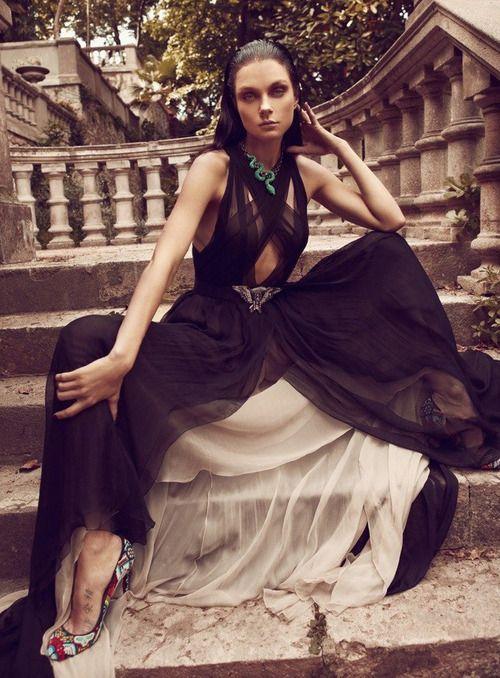 Jessica Stam / Koray Birand for Vogue Hellas, June 2012